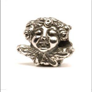 Trollbeads Angel and Devil silver bead